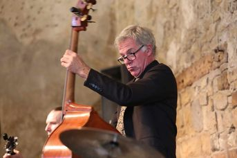 "James Clark (kb) - The Syncopators - im Jazz-Club ""Schloss Köngen"" (24.05.2019)"