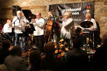 "Greyhound Jazzmen - im Jazz-Club ""Schloss Koengen"" (22.11.2019)"