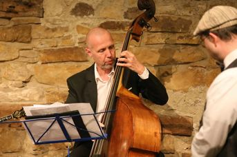 "Thomas Heidepriem (kb) - South West Oldtime All Stars - im Jazz-Club ""Schloss Köngen"" (29.03.2019)"