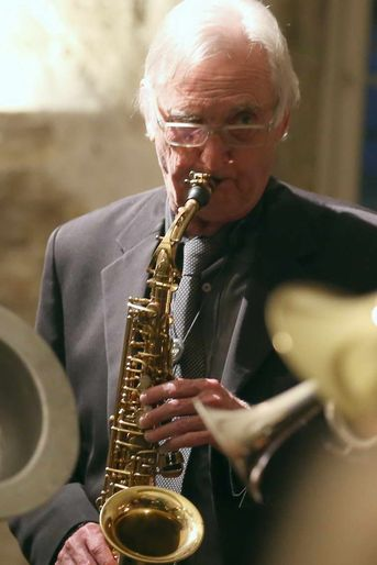 "Richard Miller (sax) - The Syncopators - im Jazz-Club ""Schloss Köngen"" (24.05.2019)"