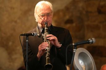 "Richard Miller (sax, cl) - The Syncopators - im Jazz-Club ""Schloss Köngen"" (24.05.2019)"