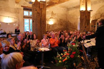 "Woodhouse im Jazz-Club ""Schloss Köngen"" (22.04.2016) - Konzertbesucher"