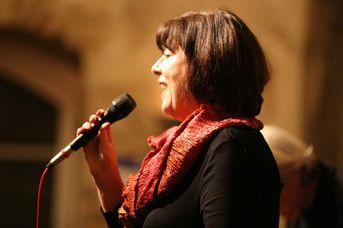 "Gisela Hafner (voc) - VOICE and VIBES - Blue Hours - im Jazz-Club ""Schloss Köngen"" (24.02.2017)"
