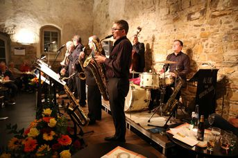 "Al Cat & the Roaring Tigers - im Jazz-Club ""Schloss Köngen"" (26.10.2018)"