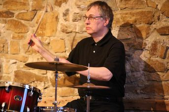 "Rolf Drese (dr) - Woodhouse im Jazz-Club ""Schloss Köngen"" (22.04.2016)"