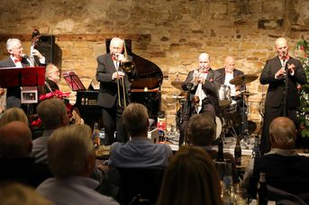 "Old Fashion Jazzband - im Jazz-Club ""Schloss Köngen"" (14.12.2018)"