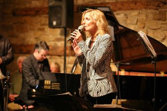 "Gaby Goldberg (voc) - Woodhouse im Jazz-Club ""Schloss Köngen"" (22.04.2016)"