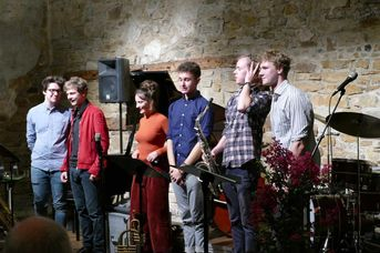 "Jacob Bänsch Collective - im Jazz-Club ""Schloss Koengen"" (25.09.2020)"