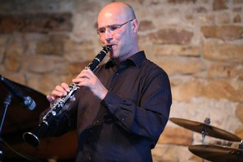 "Achim Bohlender (cl) - Achim Bohlender Swingtett - A Tribute to Benny Goodman - im Jazz-Club ""Schloss Köngen"" (20.05.2016)"