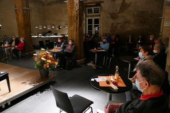 "Konzertbesucher - Echoes of Swing - im Jazz-Club ""Schloss Koengen"" (30.10.2020)"