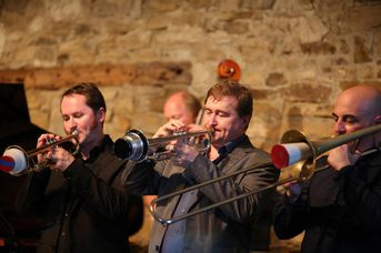 "Brass - Allotria Jazzband - im Jazz-Club ""Schloss Köngen"" (25.05.2018)"