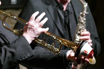 "Musizieren! - Echoes of Swing - im Jazz-Club ""Schloss Koengen"" (30.10.2020)"